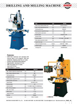 DRILLING AND MILLING MACHINE 4