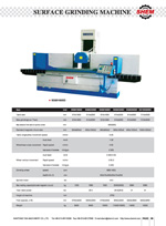 SURFACE GRINDING MACHINE 9