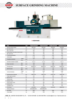 SURFACE GRINDING MACHINE 4