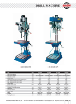 VERTICAL COLUMN DRILLING MACHINE 1