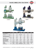 RADIAL DRILLING MACHINE 2