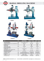 RADIAL DRILLING MACHINE 1