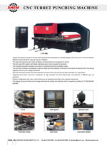CNC TURRET PUNCHING MACHINE 1